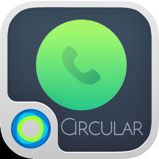 Circular Hola Launcher テーマ 個人化 LOGO-玩APPs