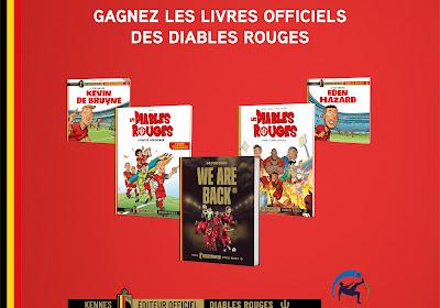 Concours : Gagnez cinq bandes dessinées Diables Rouges grâce aux Éditions Kennes !