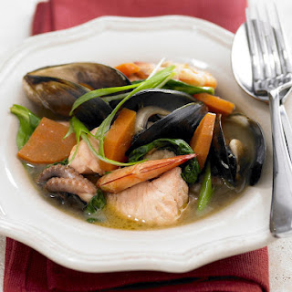 Asian Seafood Soup Recipes