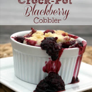 Crock-Pot Blackberry Cobbler.
