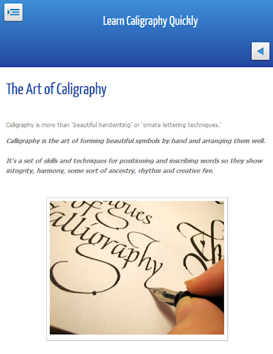 Beginners Calligraphy Courses