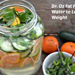 Dr. Oz Fat Flush Drink.