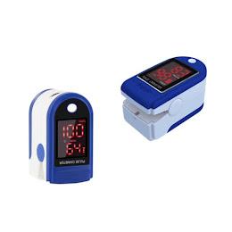 Set 2 aparate pulsoximetru, masoara pulsul si saturatia de oxigen