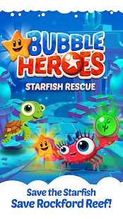 Bubble Heroes: Starfish Rescue- screenshot thumbnail
