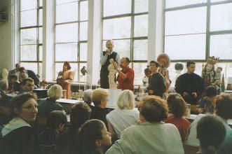 Photo: Aukcja prac uczniów, 06. 2001 r.