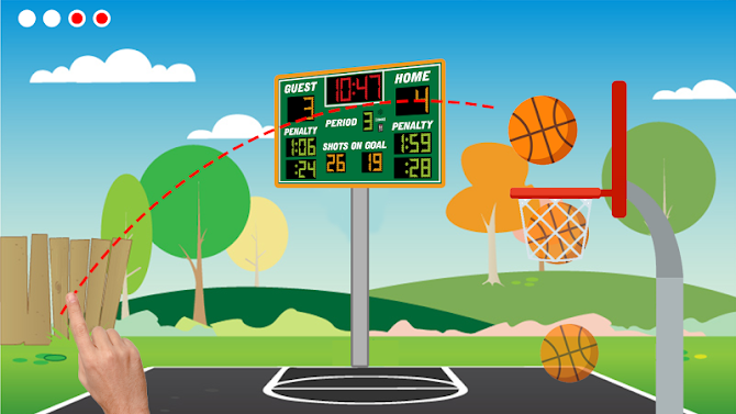 Basketball Shooter - Free Throw Game Android 2