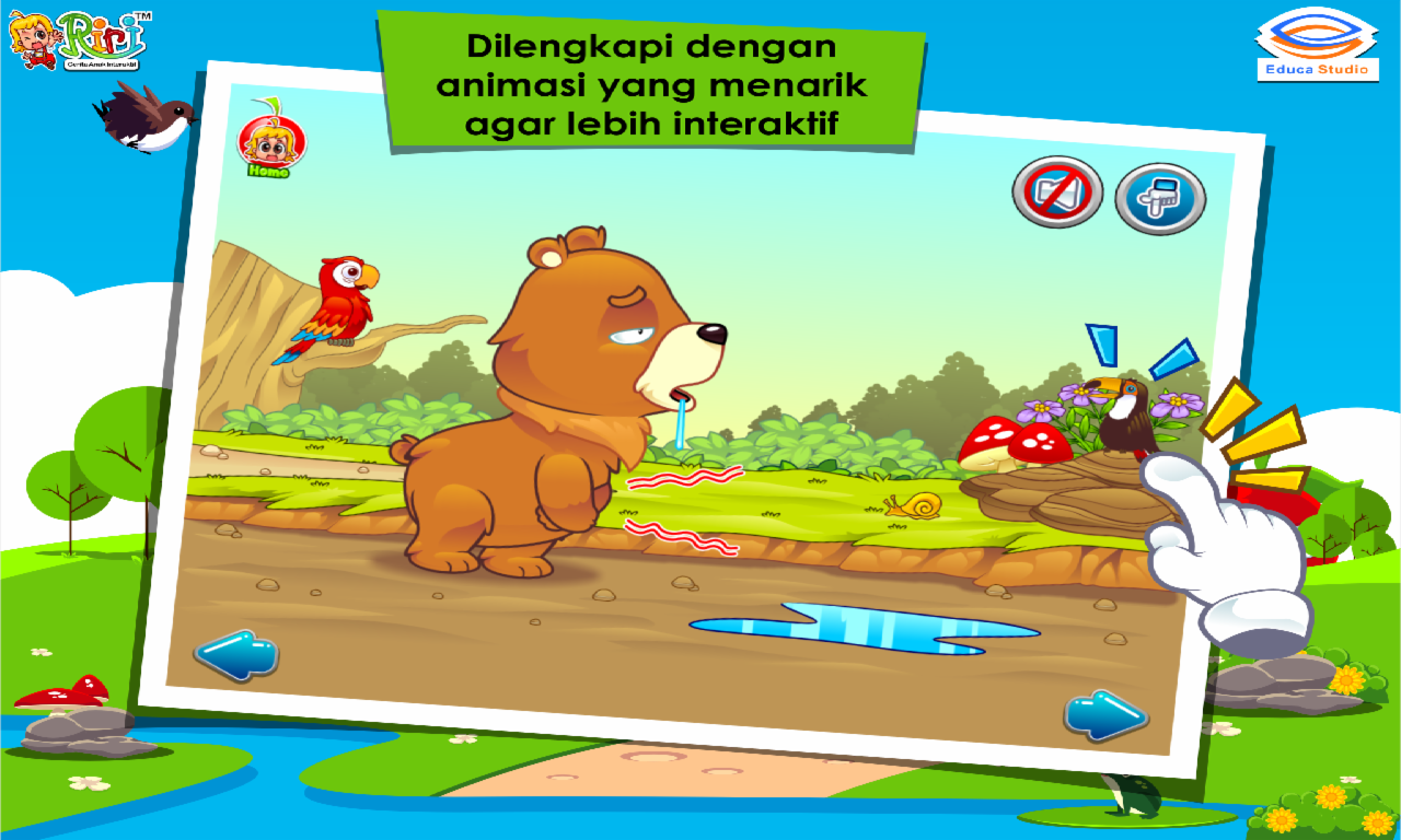 Kisah Beruang Dan Lebah Madu Android Apps On Google Play