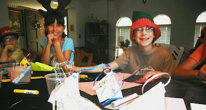 Photo: Holiday SMILES! For Ornament Crafting with Mrs Santa Call 214 321 8118 or check out www.customcomedy.net