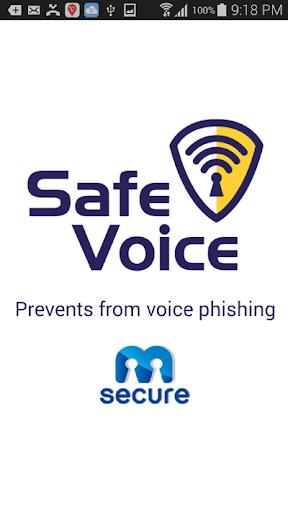 SafeVoice - Anti VoicePhishing