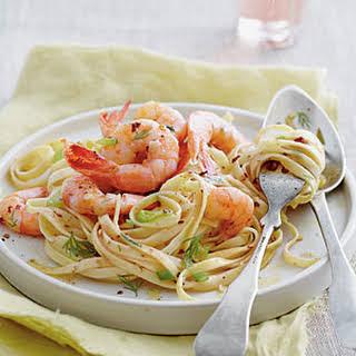 Shrimp Destin Linguine.