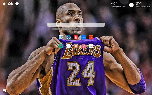 Kobe Bryant Wallpapers HD New Tab Theme