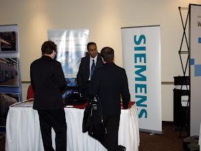 Photo: Career Fair 13:30-16:30 - the Siemens table
