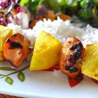 Chicken and Pineapple Kebabs Recipe