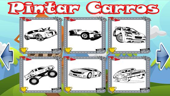 pintar carros 48 pra colorir apps no google play
