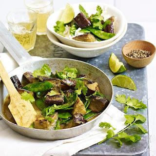 Aubergine Thai Jungle Curry.