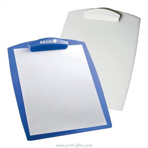 Branded Conference Clipboards A4 Paper Size