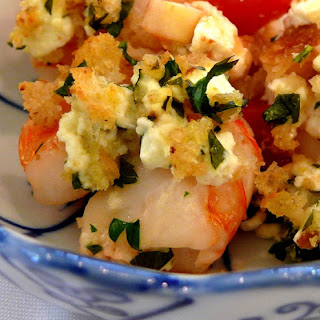 Baked Shrimp with Fennel and Feta