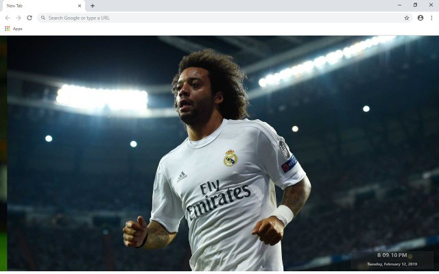 Marcelo New Tab & Wallpapers Collection