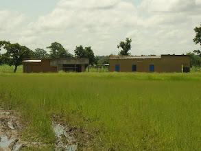 Photo: le terrain à la saison des pluies (août 2011)