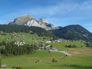 Photo: View from Wildhaus - Switzerland