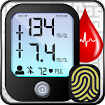 Blood Sugar Glucose Journal: Records History Diary icon