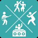 imprezy i koncerty - PartyMap icon