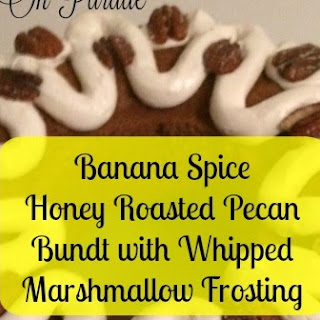 Spiced Banana Honey Roasted Pecan Cake and July UYW