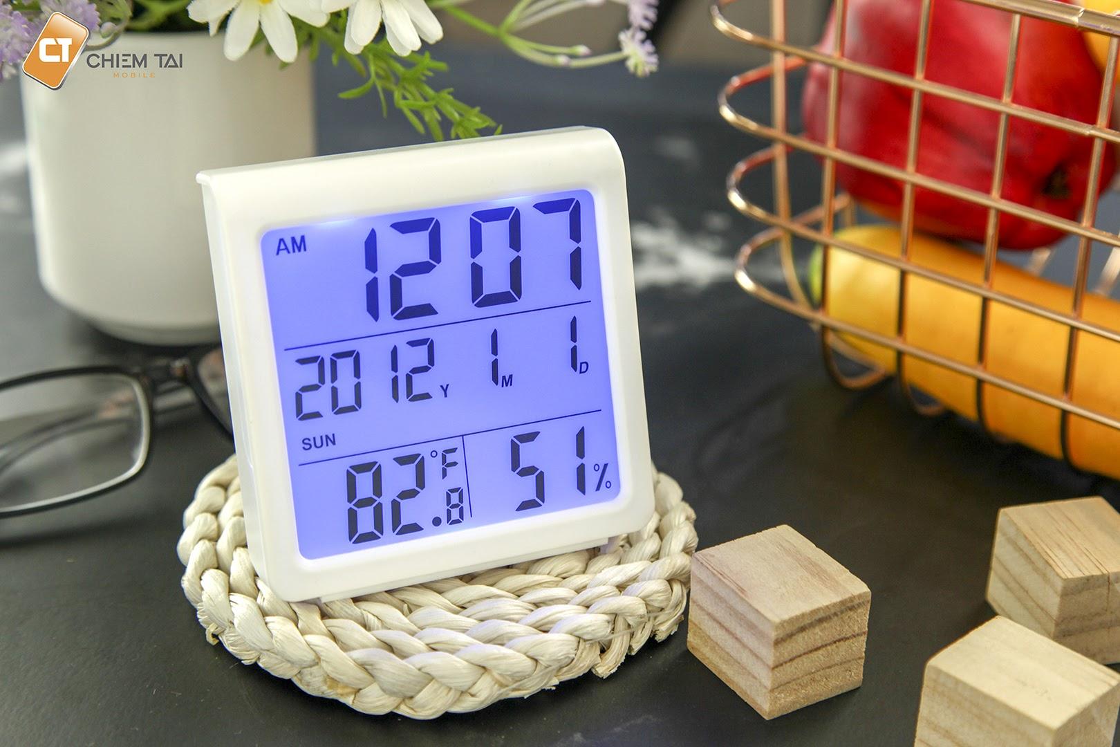 Đồng hồ đo nhiệt độ, độ ẩm RITERS RTS-8