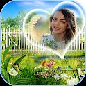 Garden Photo Frames - Garden Photo Editor HD icon