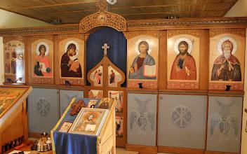 Photo: Село Богдан. Иконостасът на манастирския храм. 29 септември 2014 г.