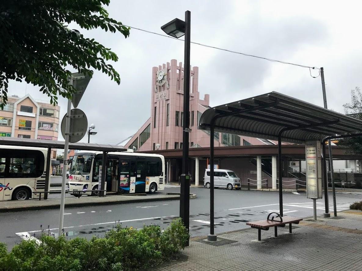 2017年10月 羽村駅
