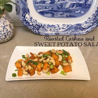 Roasted Cashew and Sweet Potato Salad.