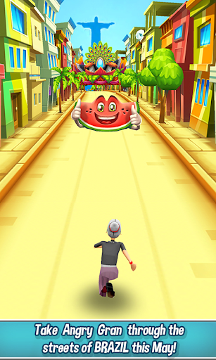 Angry Gran Run - Running Game (Mod Money)