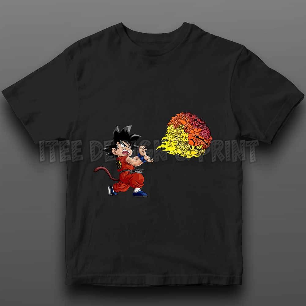 Goku Fireball Kamehameha Doodle 21