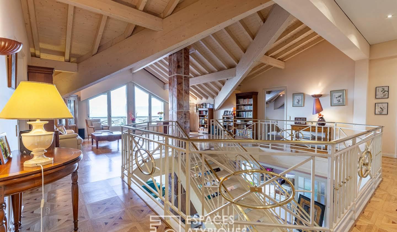 Maison avec piscine et terrasse Saint-Cergues