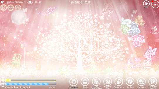 The Celestial Tree – Beautiful Idle Clicker Game MOD (Paid Features) 5