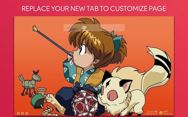 Inuyasha Wallpaper HD Custom New Tab