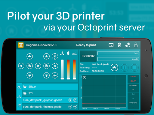 Printoid for OctoPrint PRO v6 22 - Android Applications