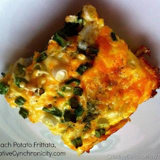 Spinach Potato Frittata