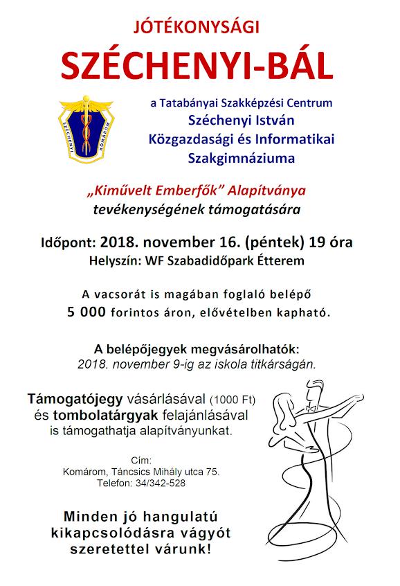 Széchenyi-bál 2018 plakát