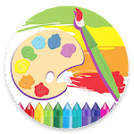 KidsPage - Coloring Book For Beginners Icon