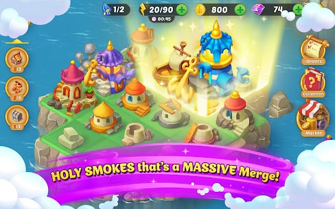 EverMerge Mod Apk 1.10.0 (Unlimited Gems, Coins, Energy) 10