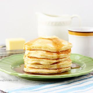 Homemade Italian Sweet Crème Pancakes.