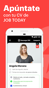 JOB TODAY: Ofertas de trabajo para profesionales Screenshot