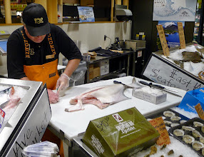 Photo: Something fishy about the new seafood department.
