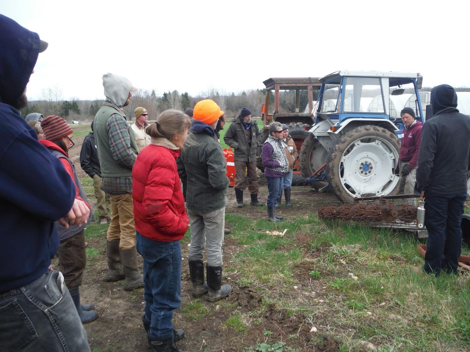 Peter, group, basket weeder, tractors.JPG