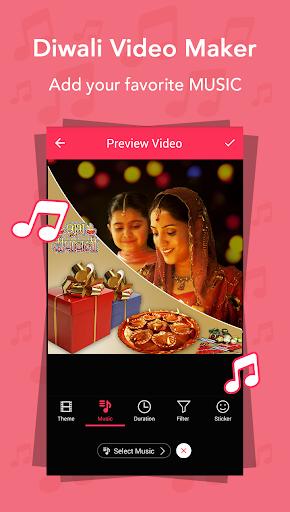 Diwali Video Maker 2.0 screenshots 2