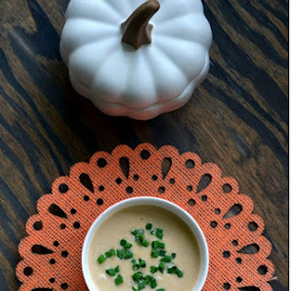 Apple Ginger Butternut Squash Soup–A Fall