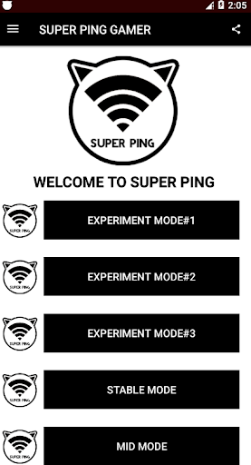SUPER PING - Anti Lag For All Mobile Game Online screenshot 1