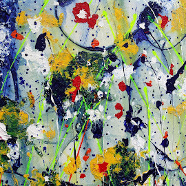 Art has no rules.. by Ans Duin - Painting All Painting ( expressionism, paintings, colourfull, impressionism, ans duin )